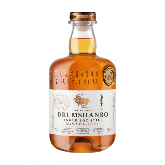 Drumshanbo Single Pot Still Irish Whiskey 0.7L