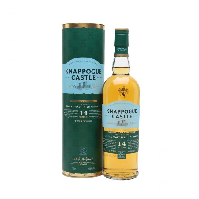 Knappogue Castle 14 Yo Whiskey 0.7L