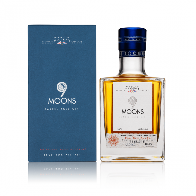 Martin Millers 9 Moons Barrel Aged Gin 0.35L
