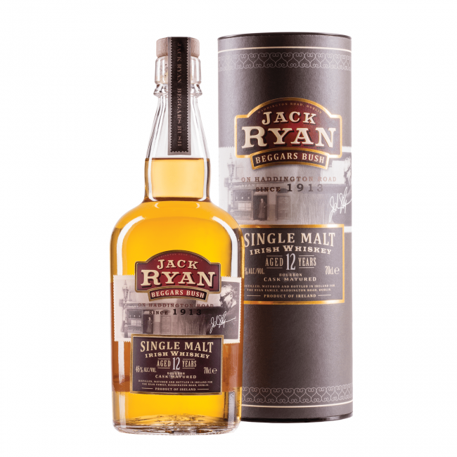 Jack Ryan 12 Yo Whiskey 0.7L