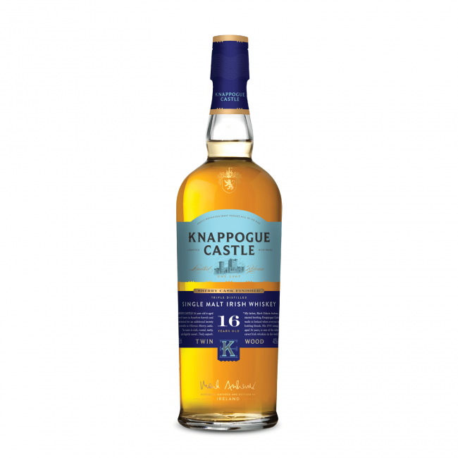 Knappogue Castle 16 Yo Whiskey 0.7L