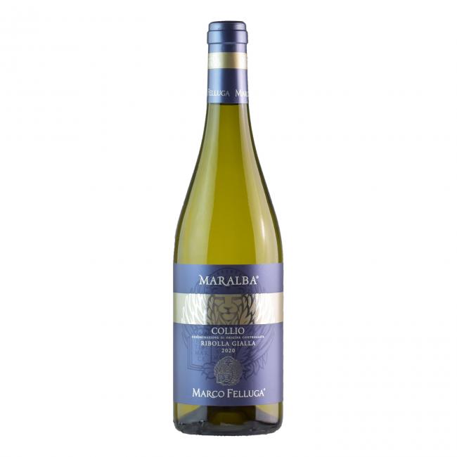 Collio Ribolla Gialla Maralba 2020 DOC 0.75L Vin alb sec