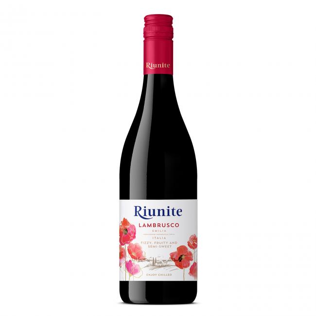 Riunite Lambrusco Rosu Emilia IGT 0.75L