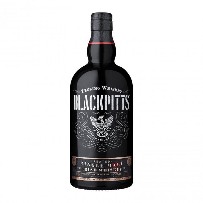 Teeling Whiskey Blackpitts Peated Single Malt Gift 0.7L