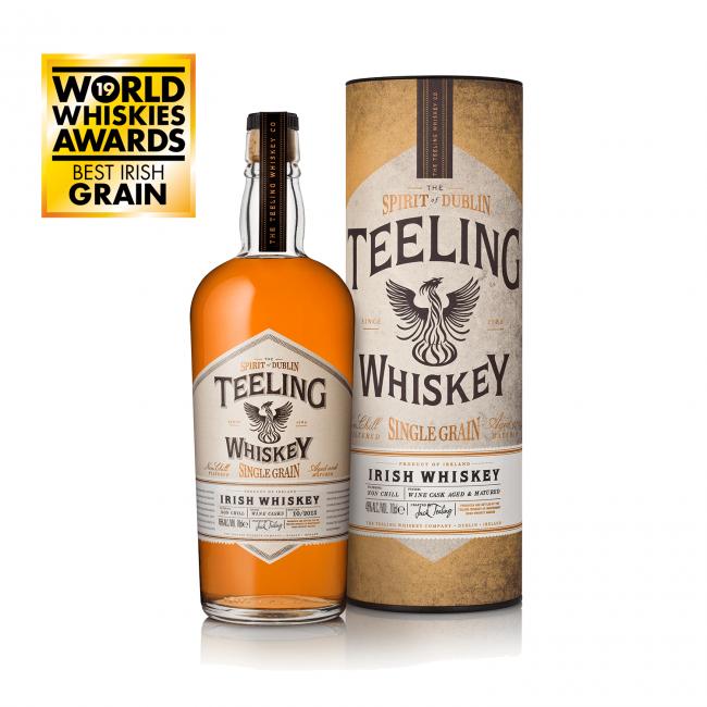 Teeling Whiskey Single Grain Gift 0.7L
