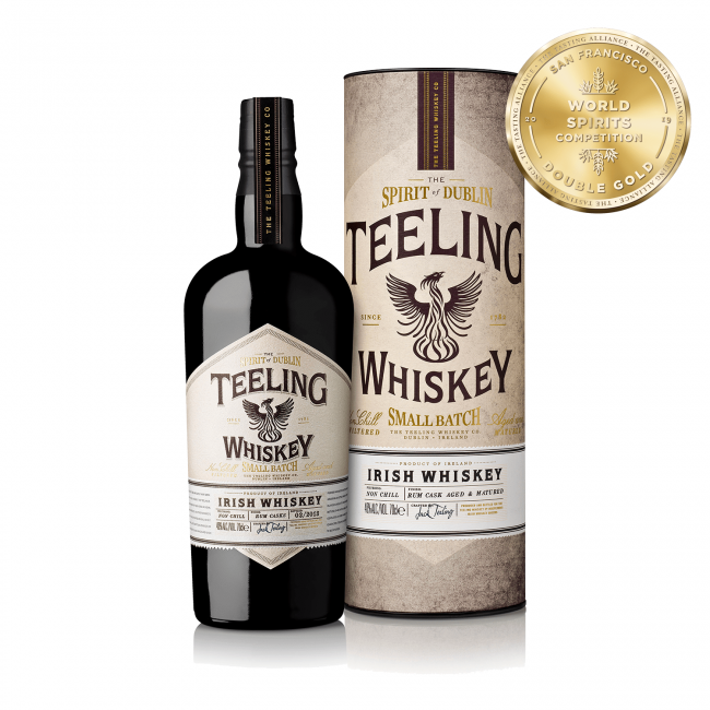 Teeling Whiskey Small Batch Gift 0.7L